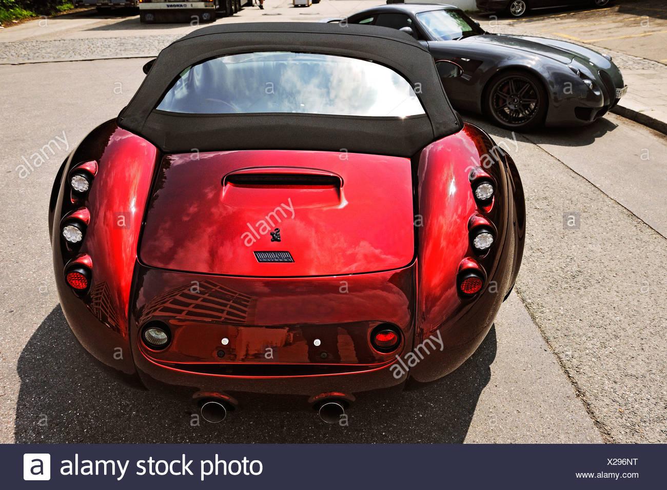 Wiesmann sports car, roadster, Munich, Bavaria, Germany, Europe - Stock Image