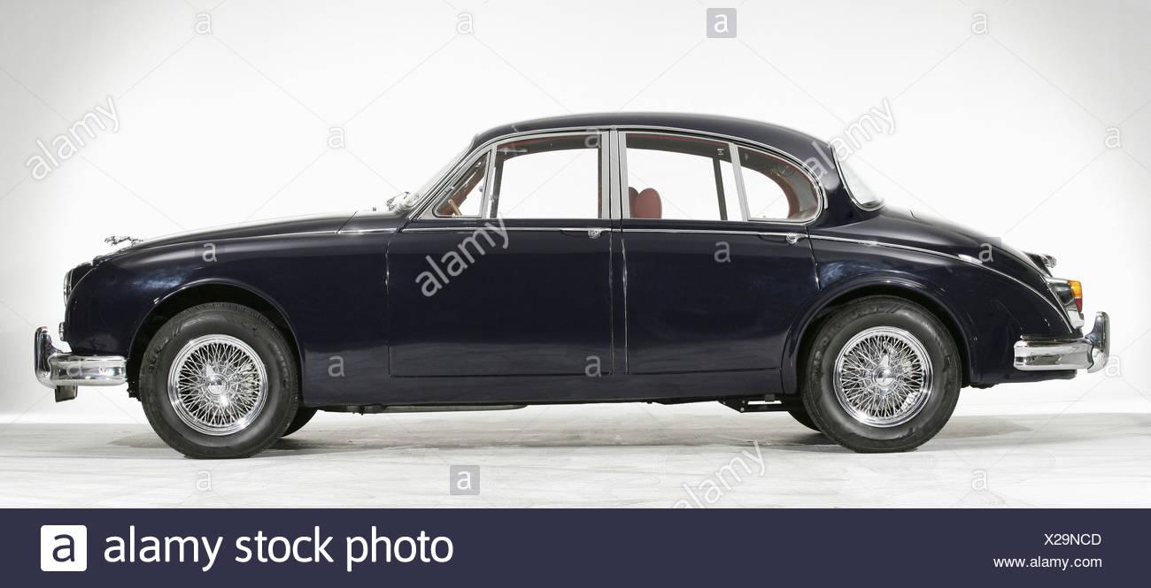 Jaguar MKII 1960´s - Stock Image