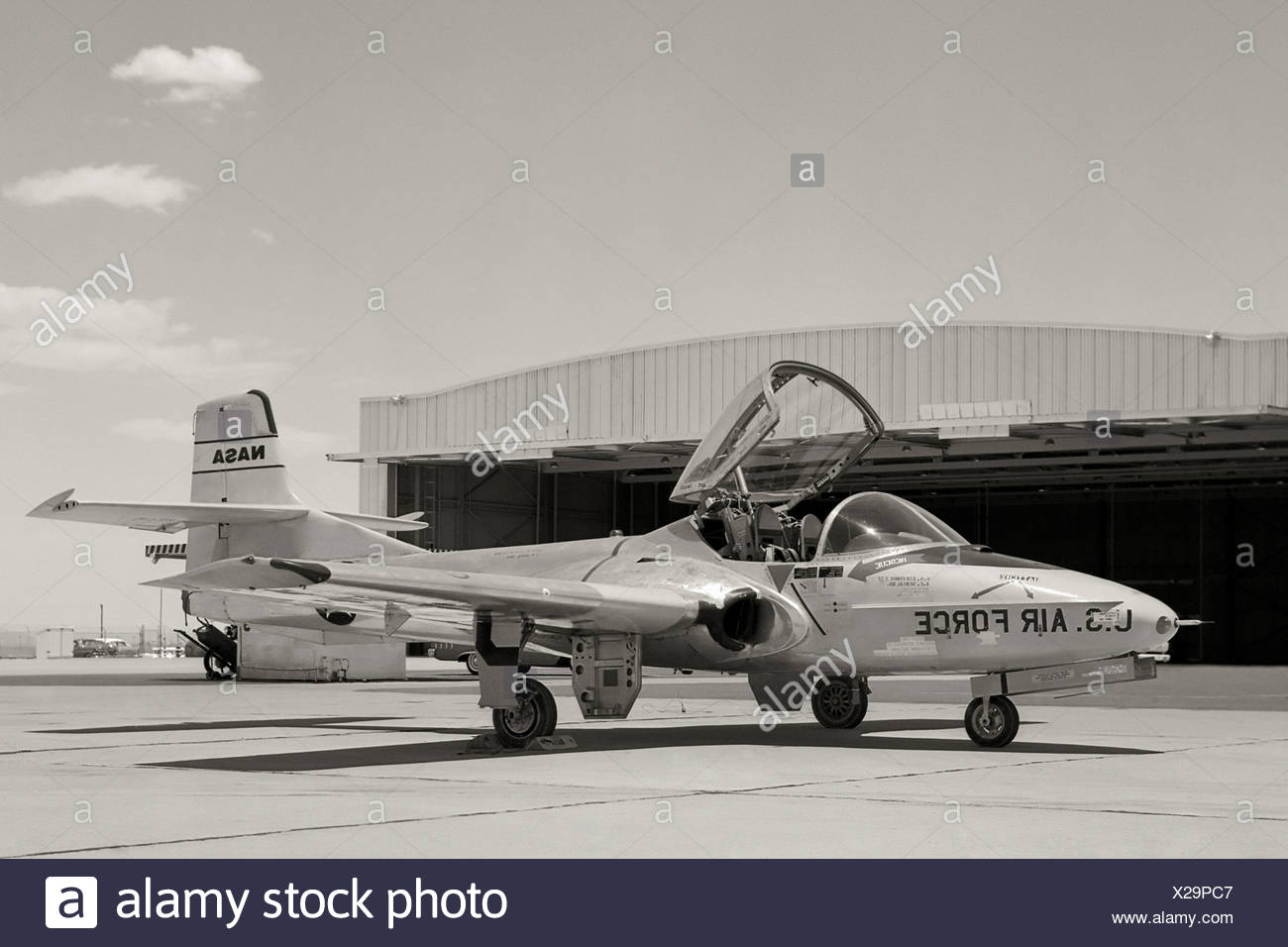T-37 Training Jet - Stock Image