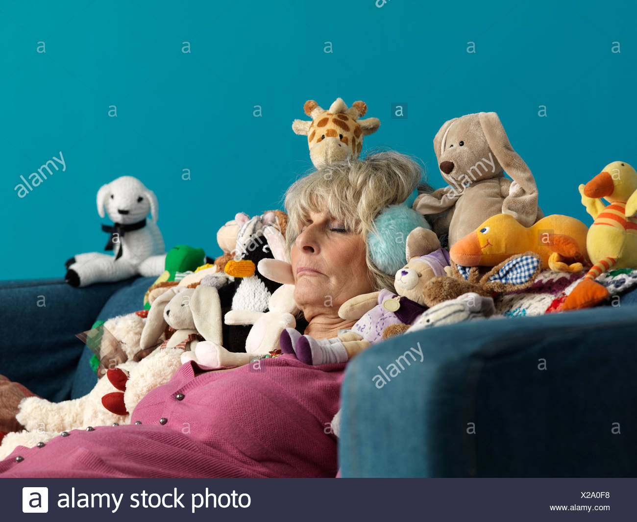 Mature women with toys
