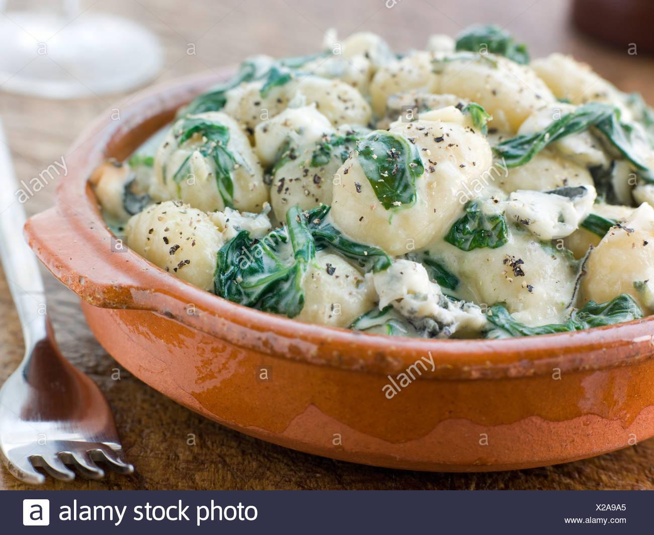 gnocchi mit gorgonzolasauce