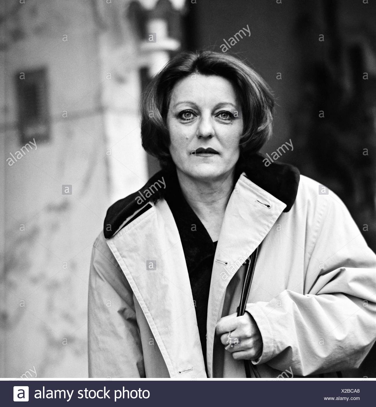 Mueller, Herta, * 17.8.1953, German author / writer, portrait, 12.11.1998, Additional-Rights-Clearances-NA - Stock Image