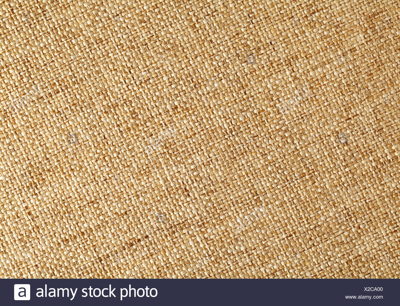 close plait detail - Stock Image