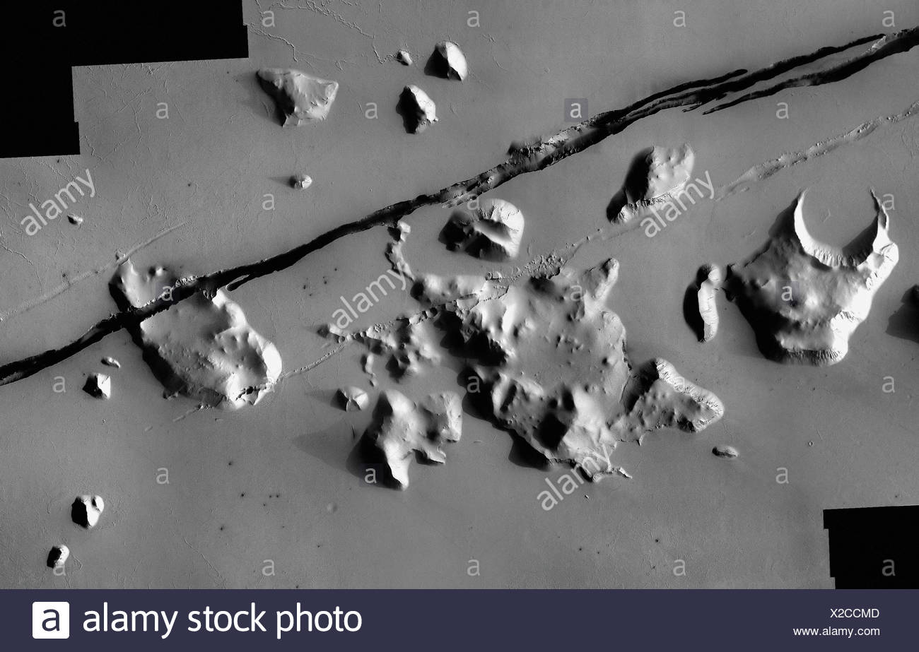 Cerberus Fissure by Mars Odyssey - Stock Image