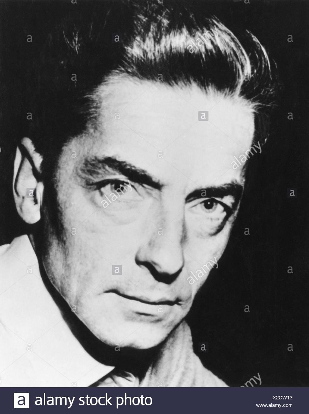 Karajan, Herbert von, 5.4.1908 - 16.7.1989, Austrian musician (conductor), portrait, , Stock Photo