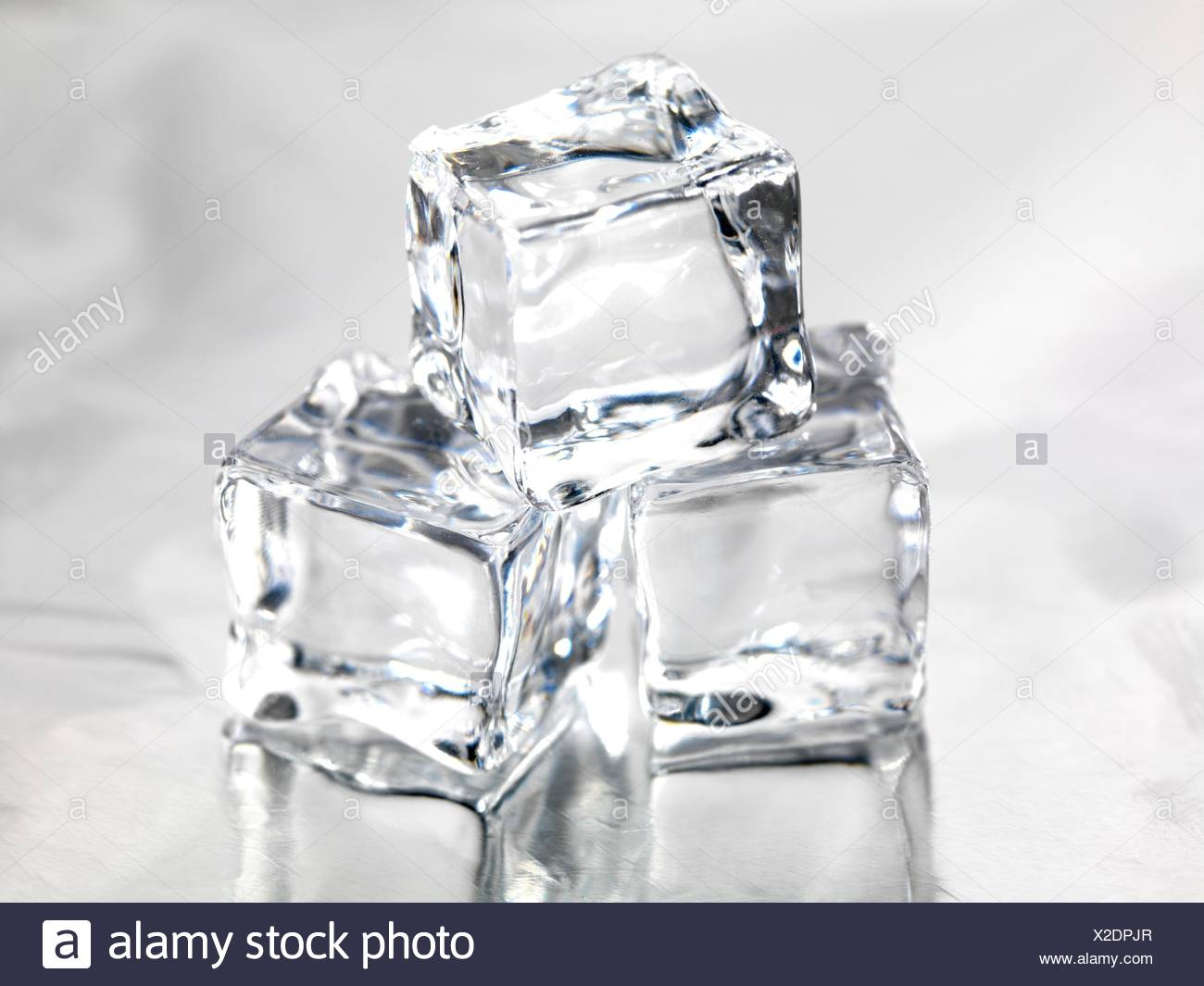 Fine Frozen Ice Cubes Isolated On A Kitchen Bench Stock Photo Pdpeps Interior Chair Design Pdpepsorg