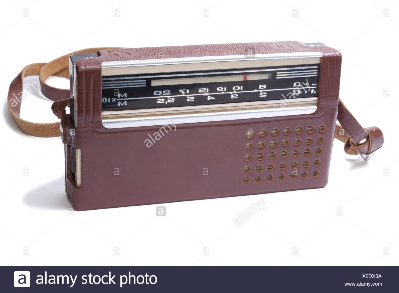 Old Transistor Radio Stock Photos & Old Transistor Radio Stock