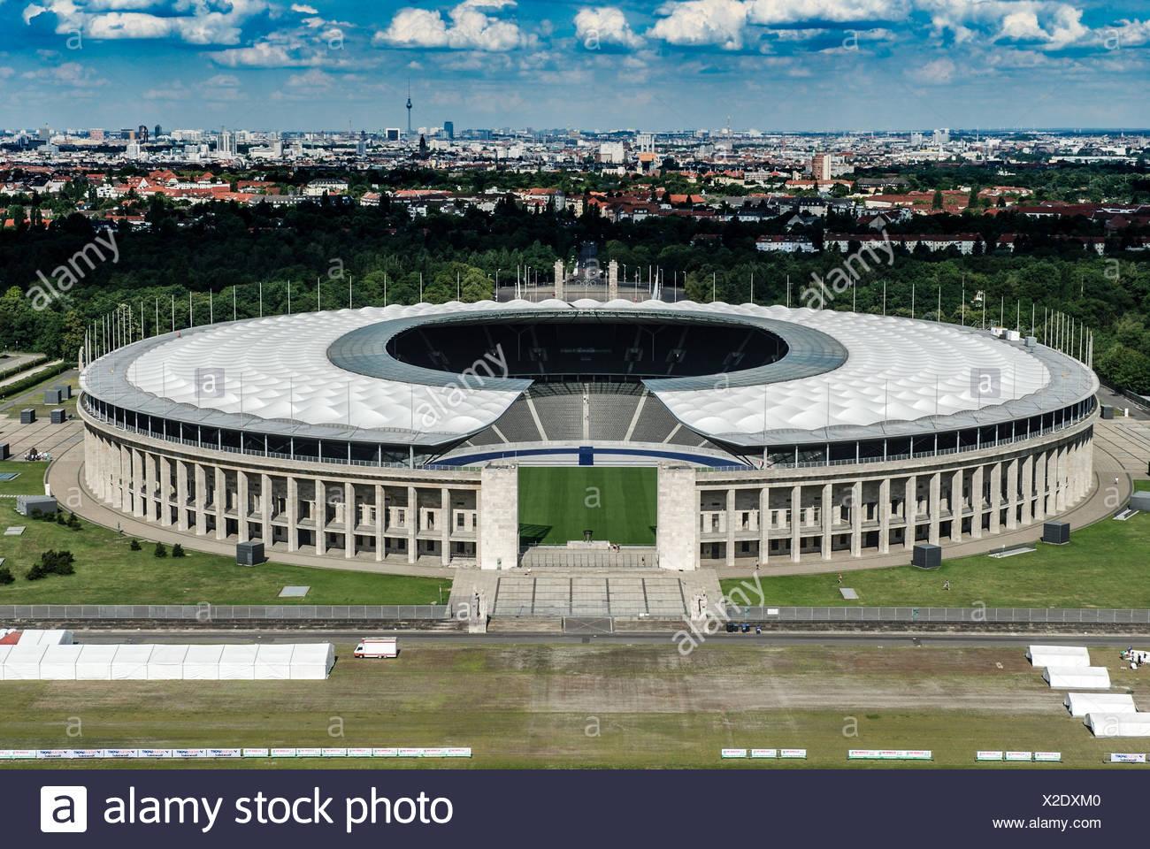 olympiastadion berlin - Stock Image
