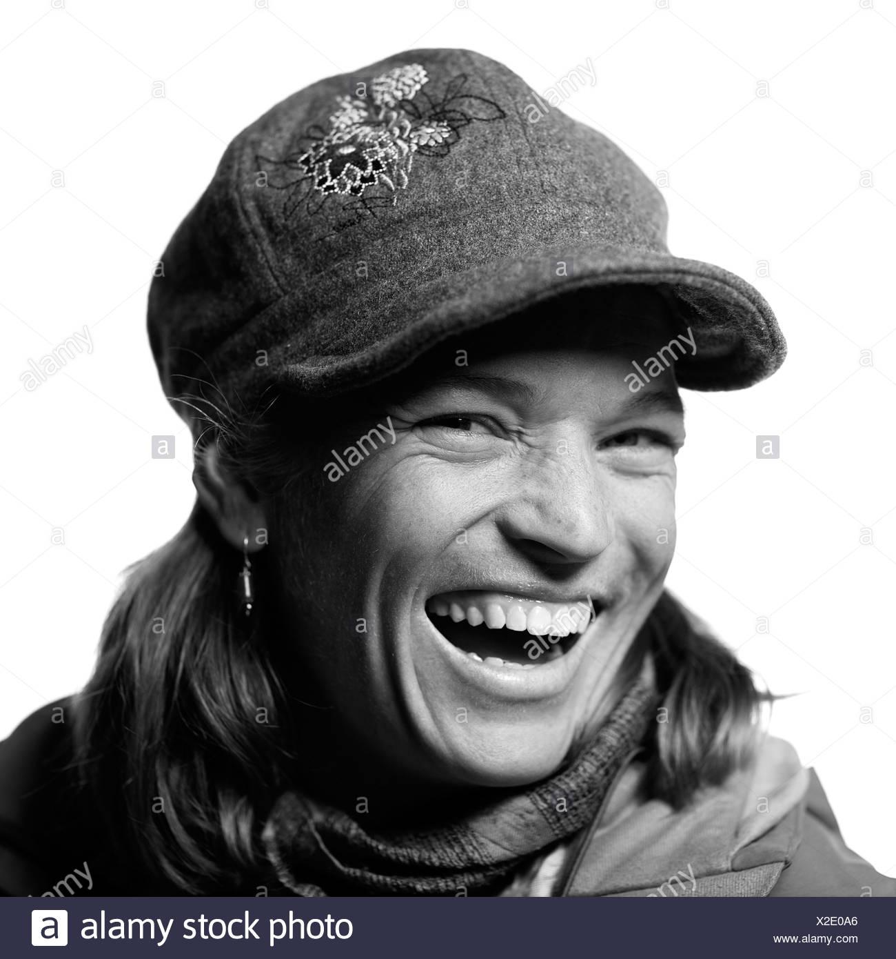 Jackson Hole Alpine Guide Portraits - Stock Image