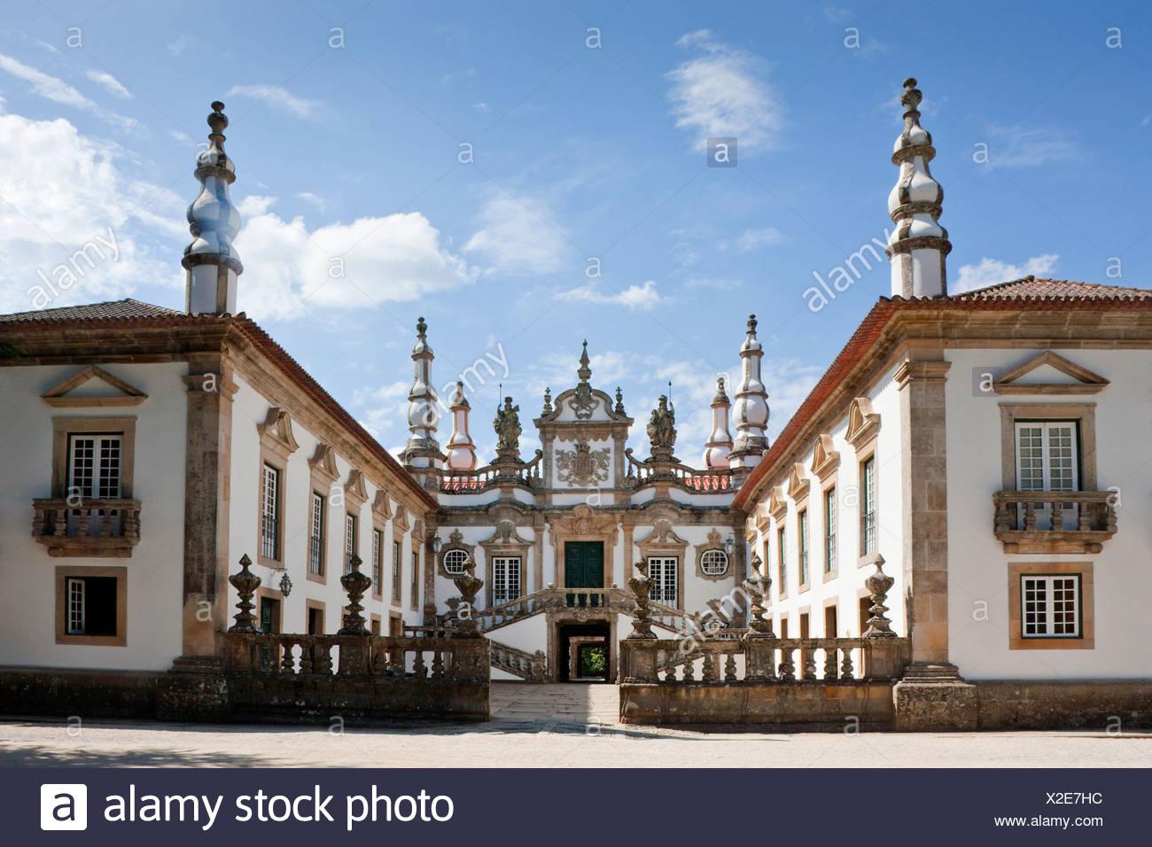 Portugal, Europe, Mateus, Vila Real, palace, culture - Stock Image