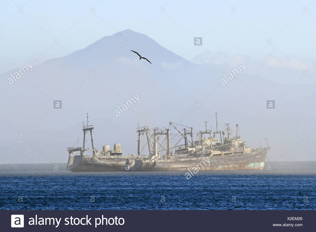 Ghost ships - Stock Image