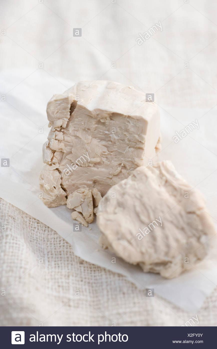 Fresh yeast - Stock Image
