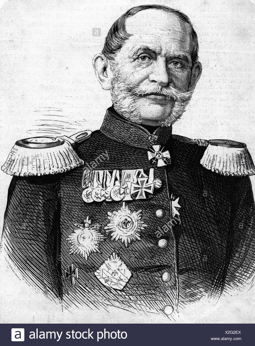 Rheinbaben, Albert Baron von, 1813 - 1 11 1880, Prussian general