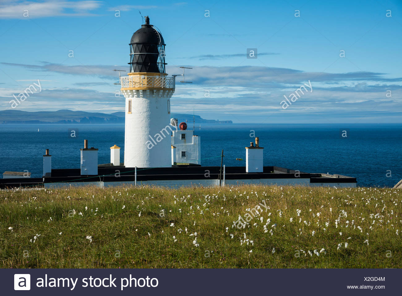 Scotland, Dunnet Head is a peninsula in Caithness - Stock Image