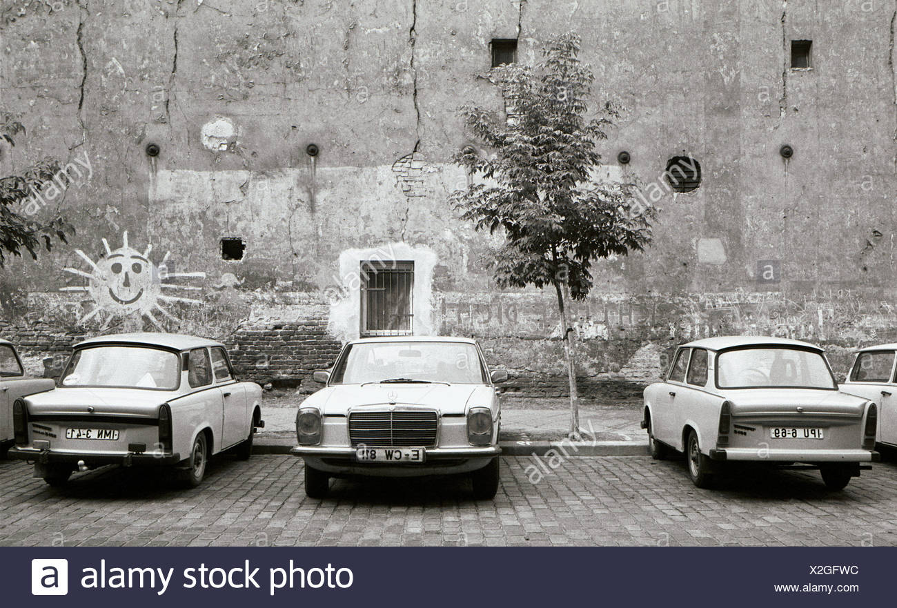 Parked Cars East Berlin 1984