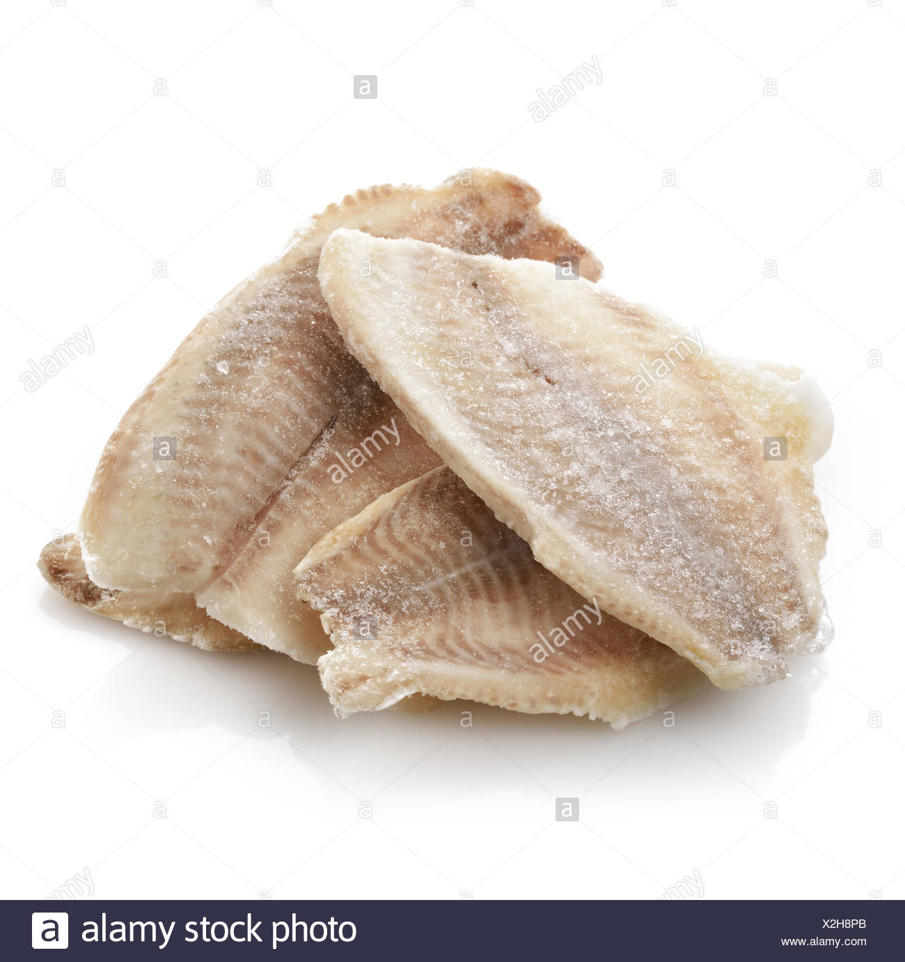 Frozen Tilapia Fillet Stock Photo Alamy
