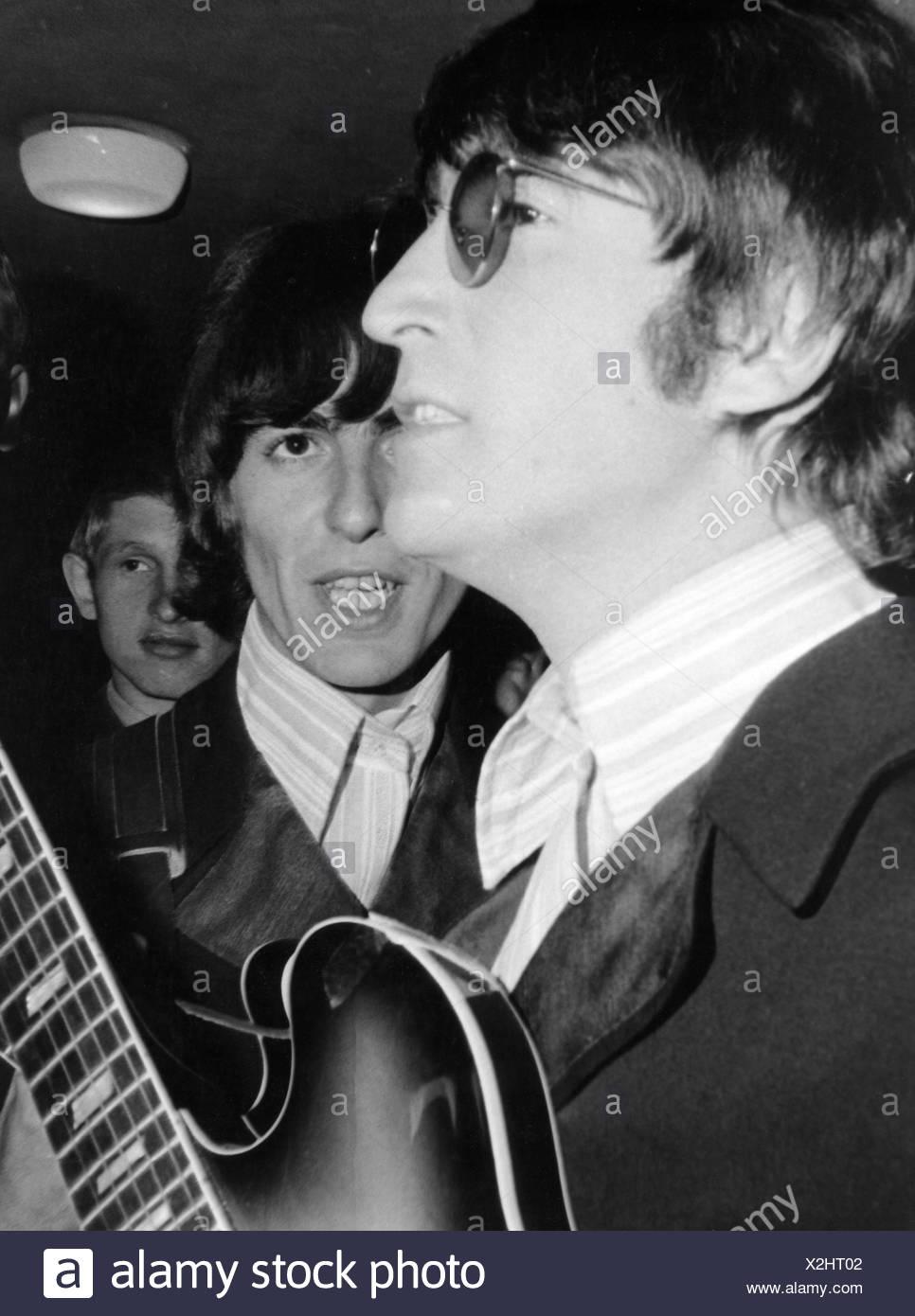 The Beatles Music Pop Group Band Concert Germany Essen 1966 John Lennon Singer