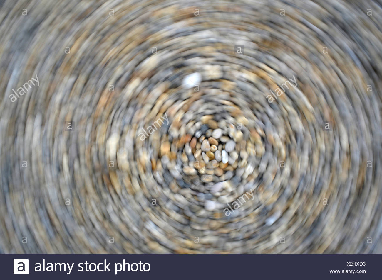 Pebble Abstract - Stock Image