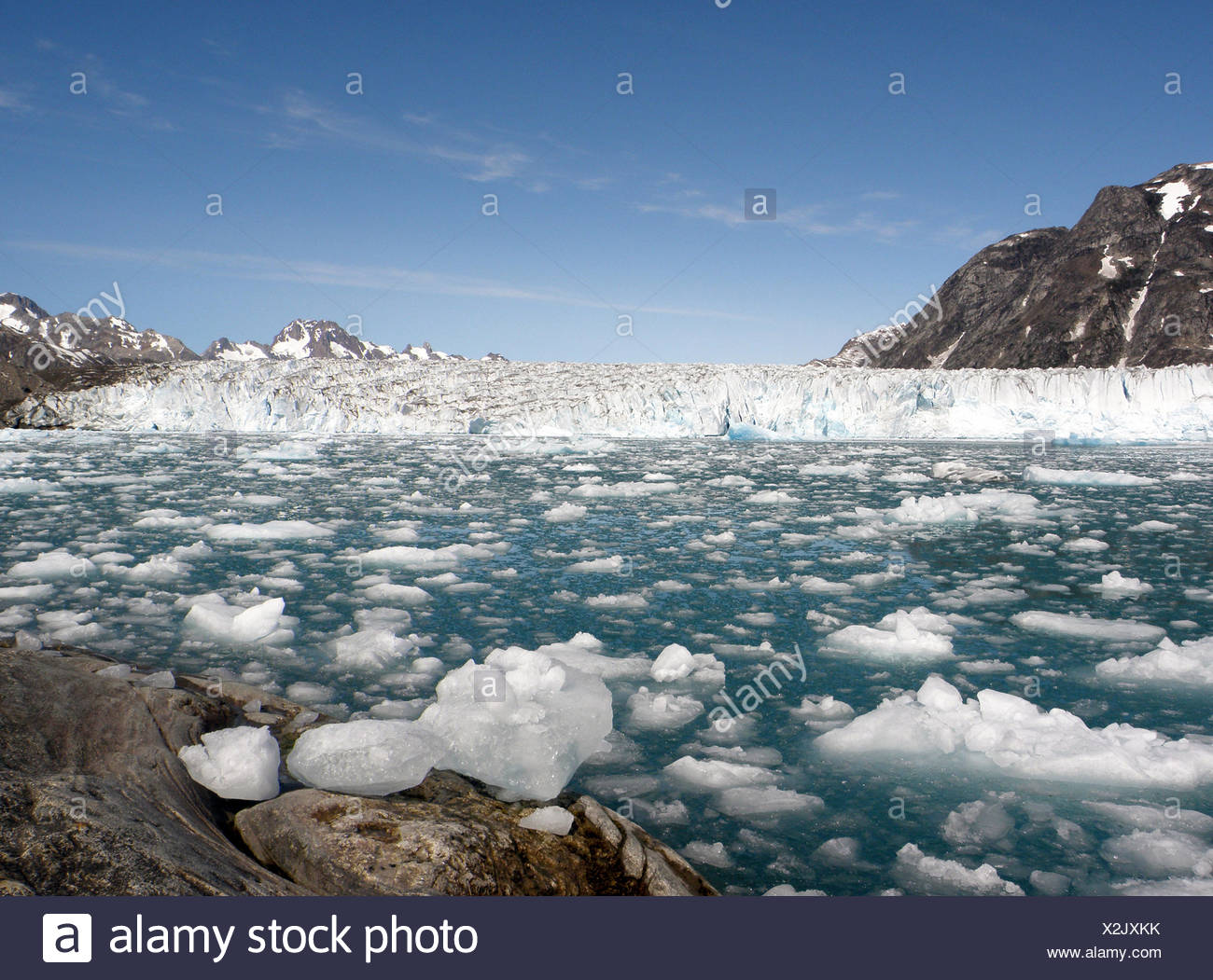 icy fascination - Stock Image