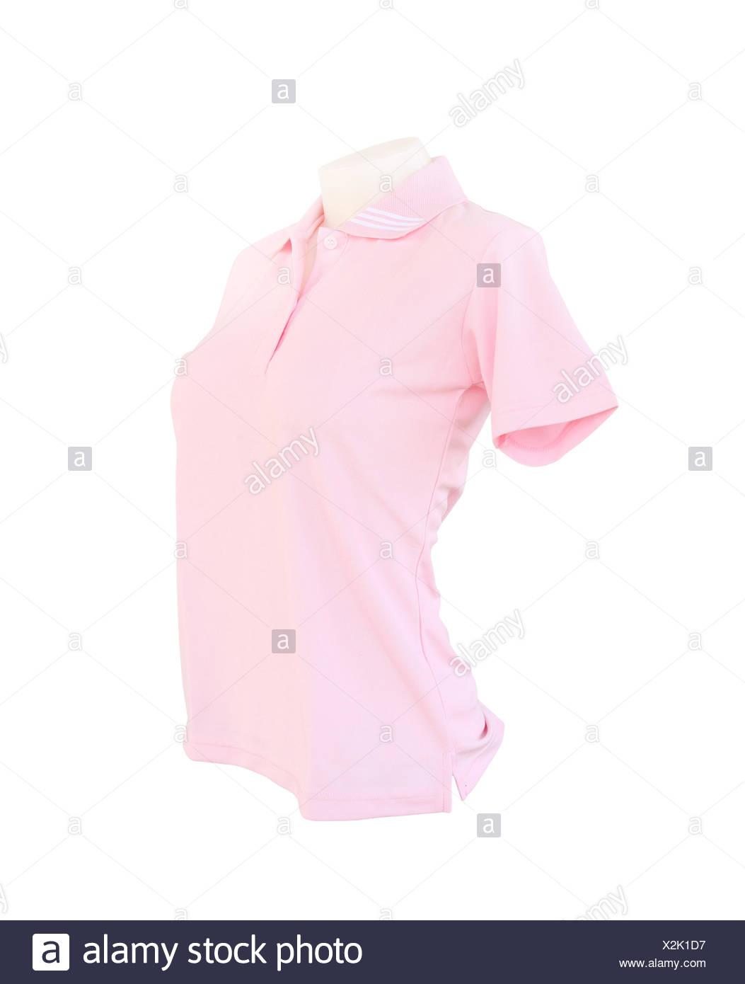 Black Pink Polo Shirt Stock Photos Black Pink Polo Shirt Stock