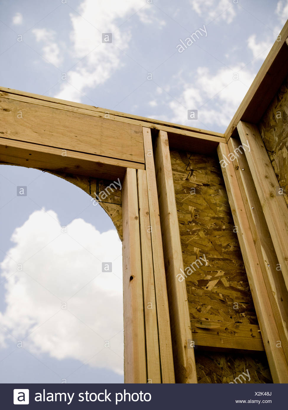 Construction job site. - Stock Image