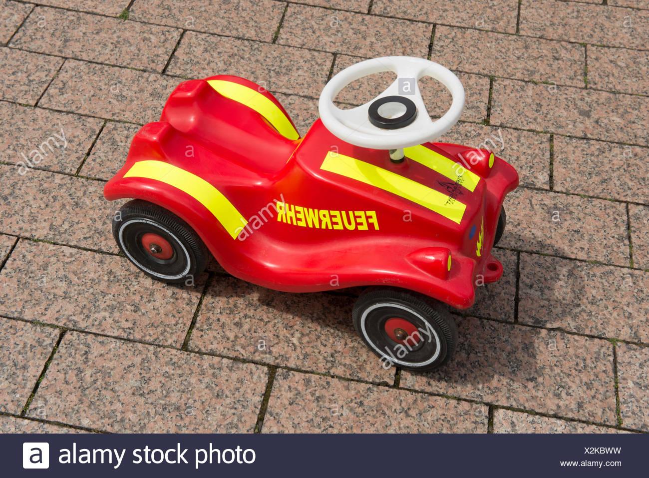 Fire brigade Bobby Car, PublicGround - Stock Image