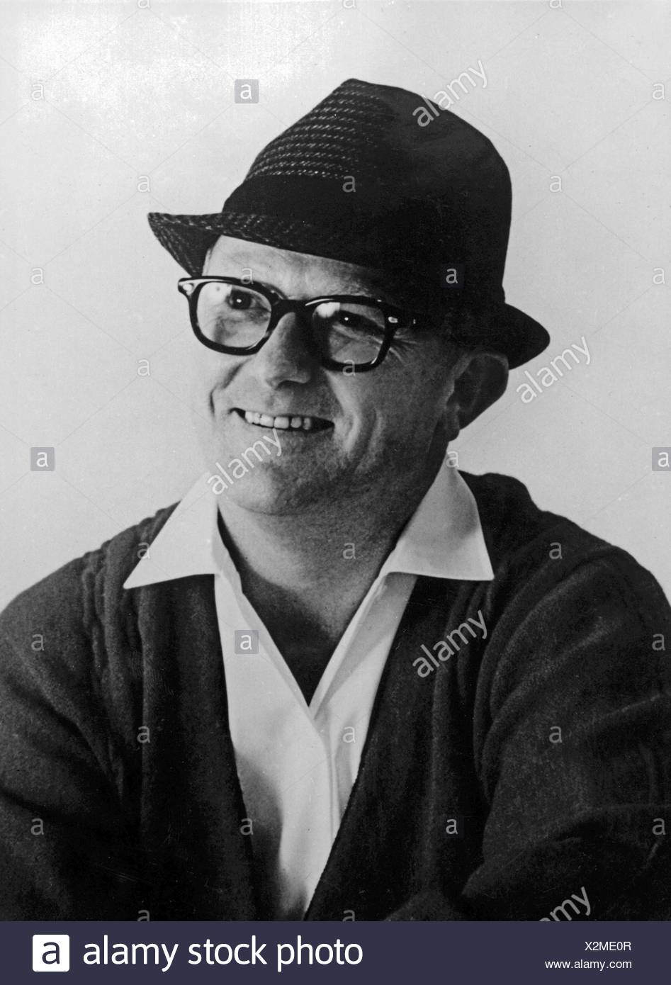 Vaughn, Billy, 12.4.1919 - 26.9.1991, American musician and singer, portrait, 1950s, Additional-Rights-Clearances-NA - Stock Image