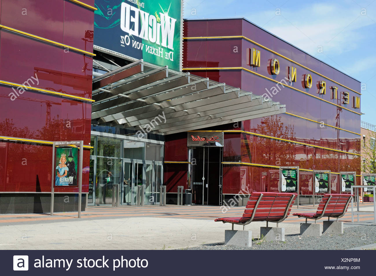 Metronom, musical theater, shopping center, Centro, Neue Mitte district, Oberhausen, Ruhrgebiet area, North Rhine-Westphalia - Stock Image