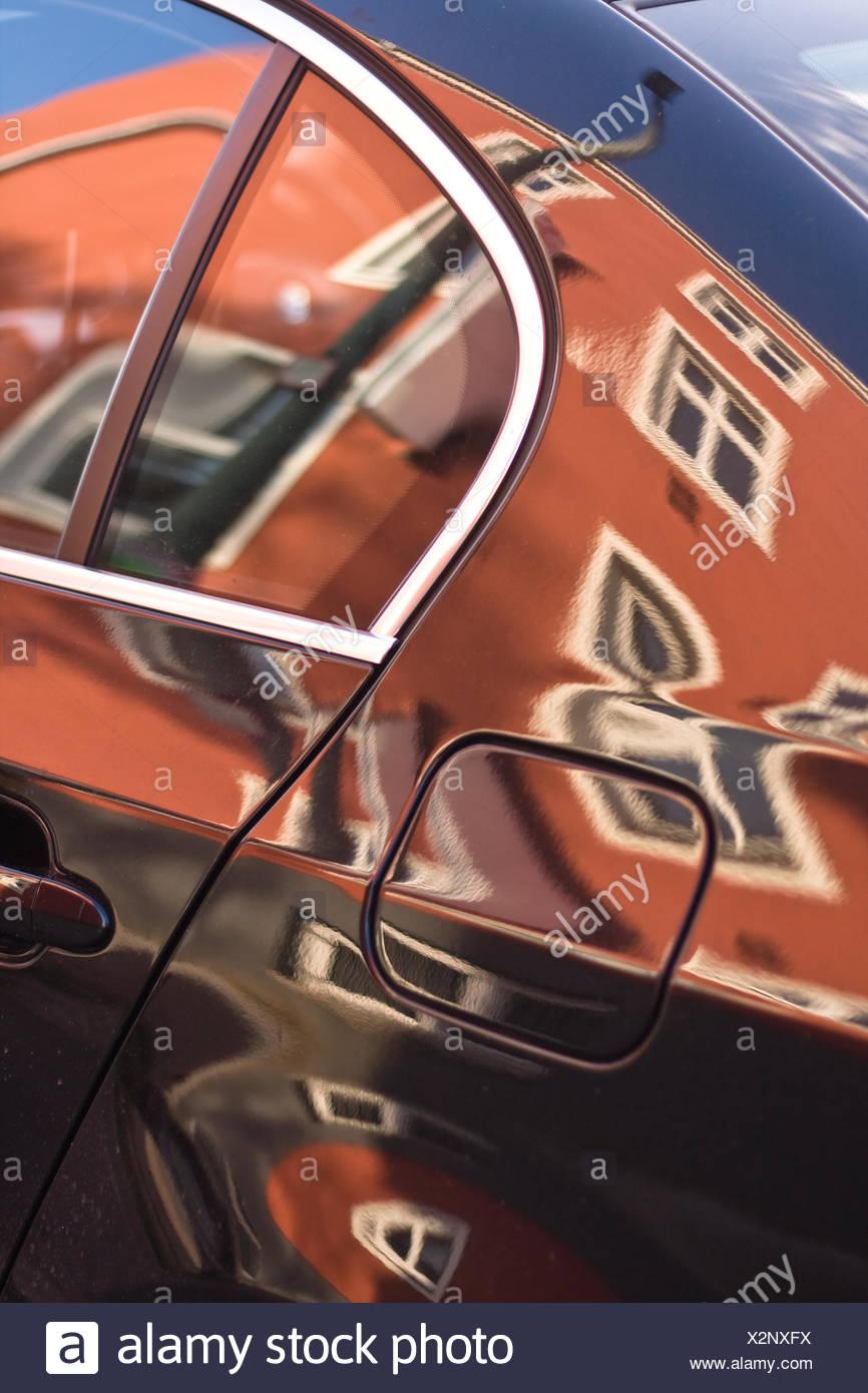 car, distortion - Stock Image