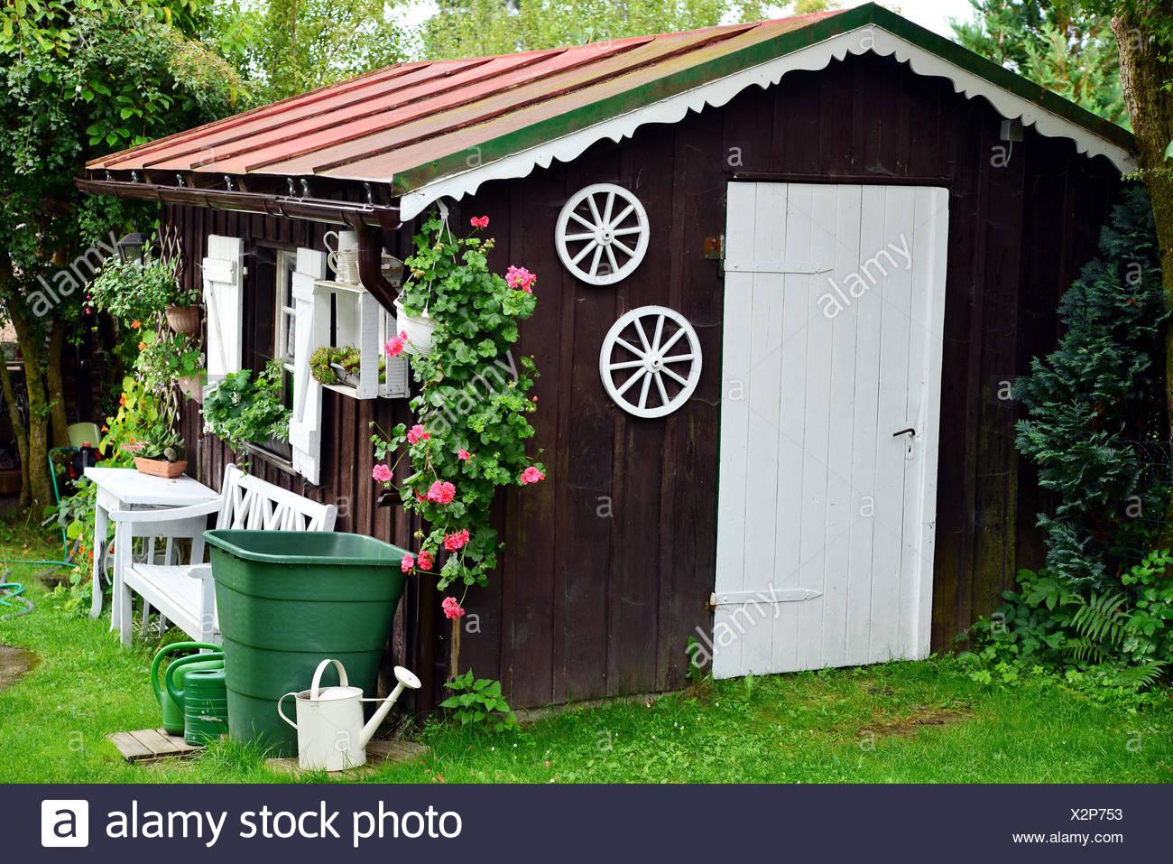 Garten Hütte Shabby Chic Stock Photo 277083775 Alamy