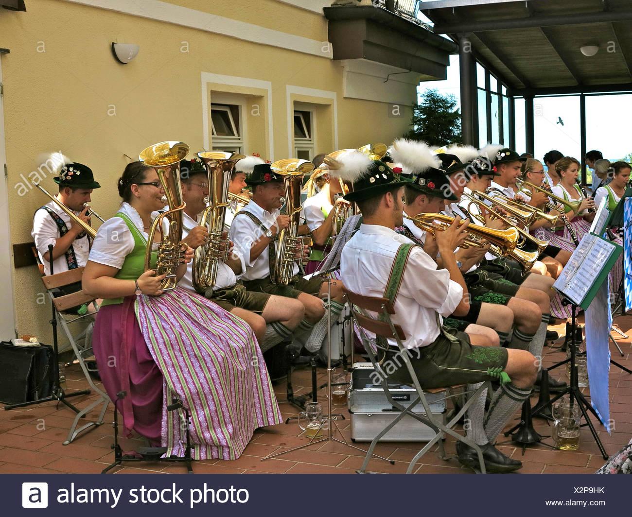 Beer Garden Musician Stock Photos & Beer Garden Musician Stock ...