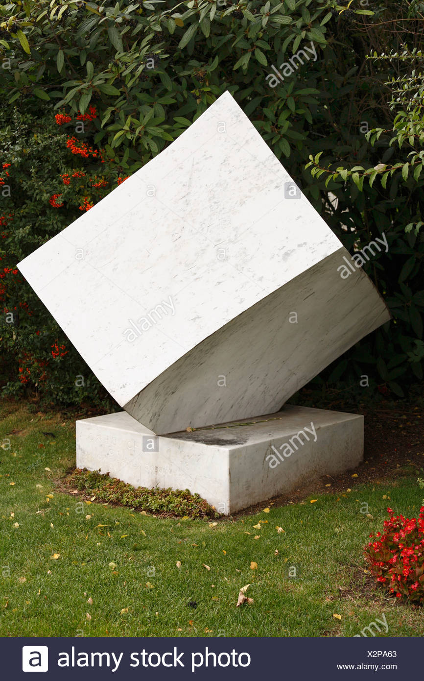 Arnold Schoenberg gravestone, Wiener Zentralfriedhof, cemetery, Vienna, Austria, Europe - Stock Image