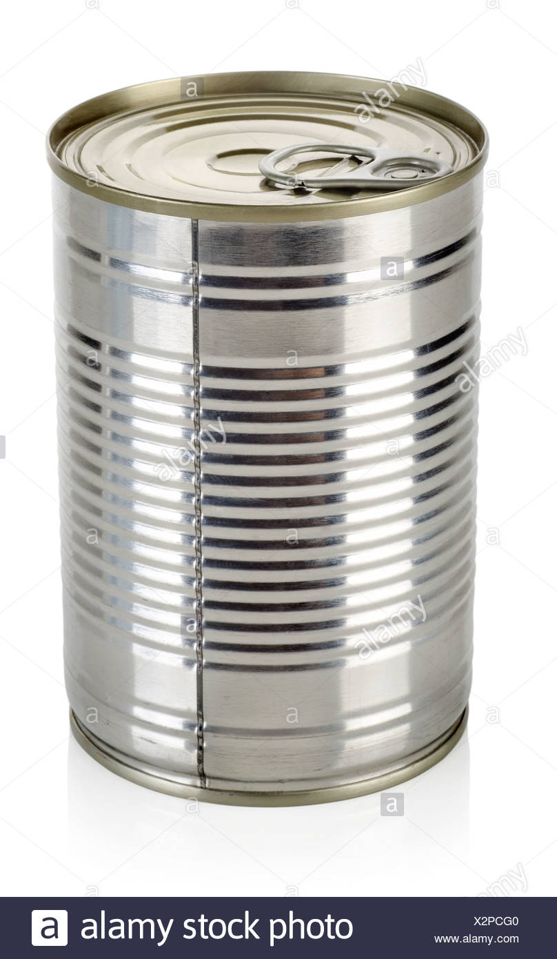 Canned food for animals - Stock Image