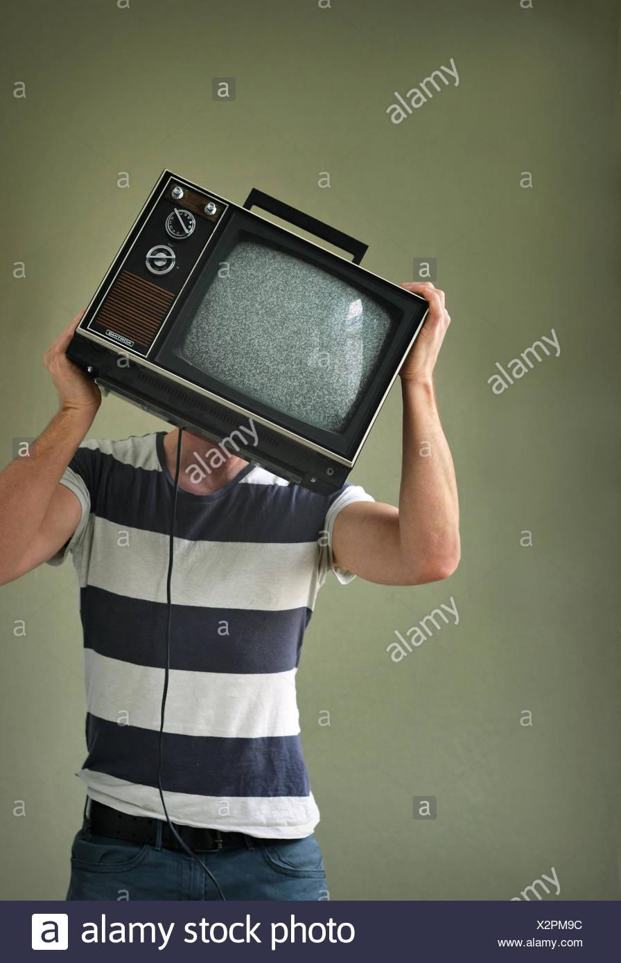 TV-Maniac - Stock Image