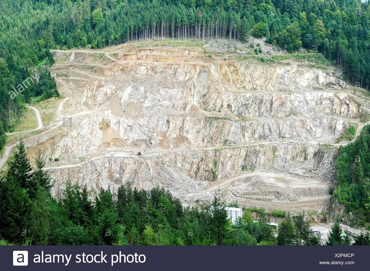 quarry - Stock Image