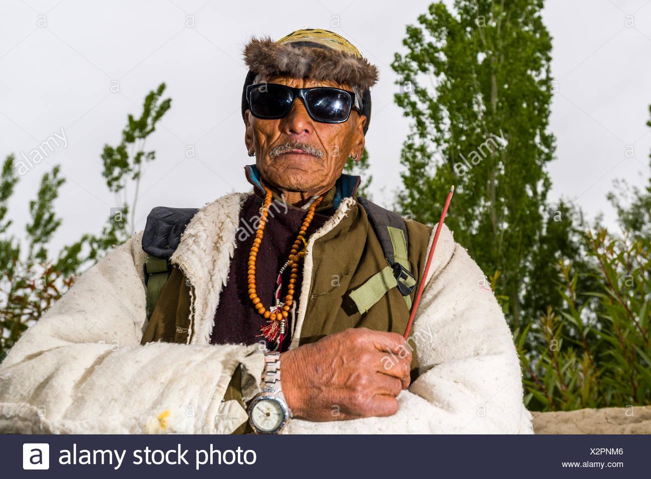 India Man Portrait Farmer Stock Photos & India Man ...
