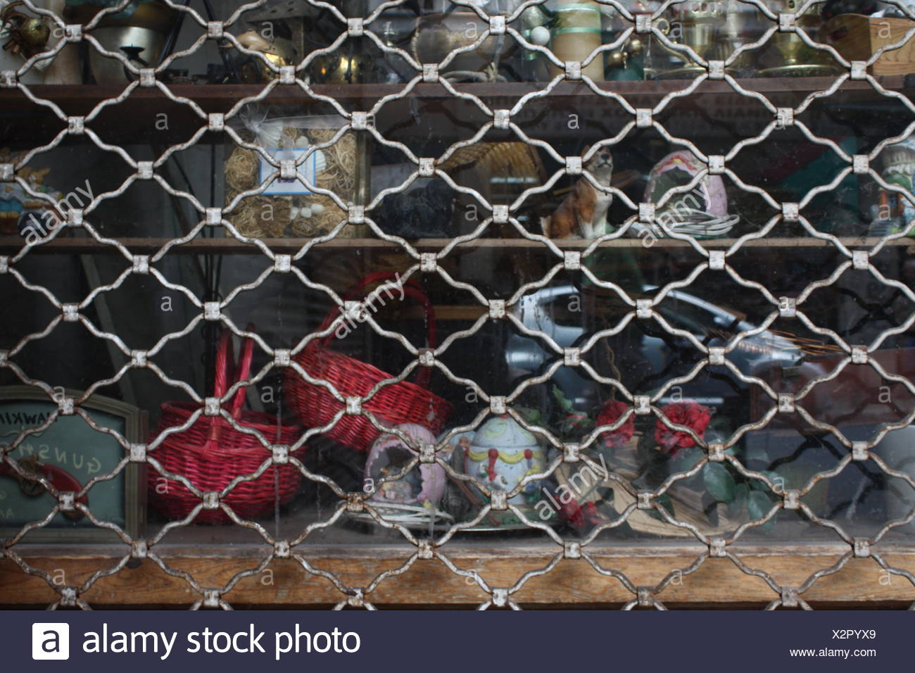 Close-Up Of Vintage Objects In Shelf Stock Photo: 277100049 - Alamy