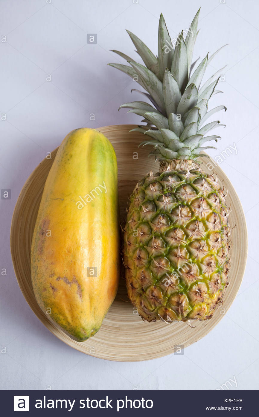 Pictures Of Papaya And Pineapple