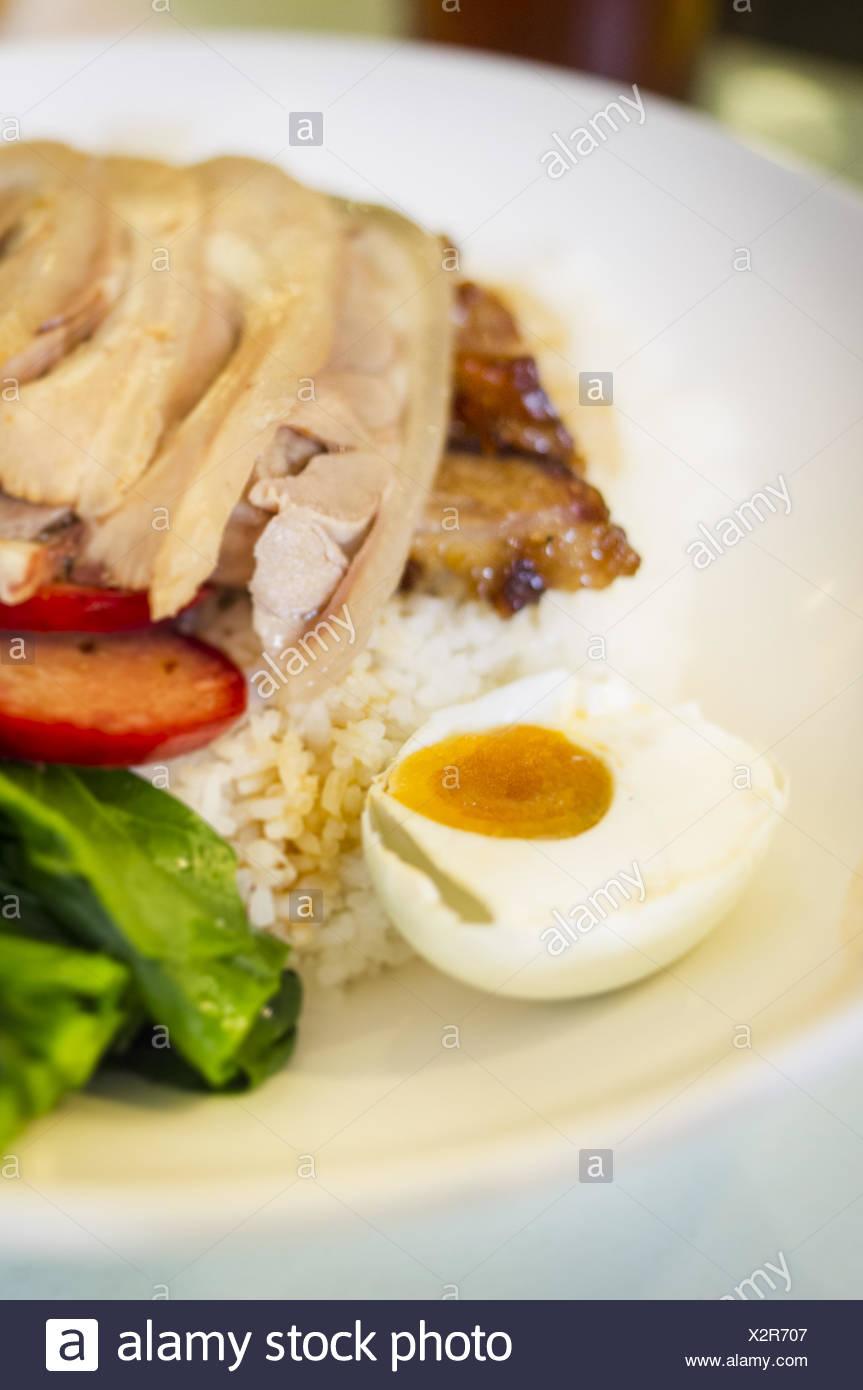 hong kong cantonese food - Stock Image