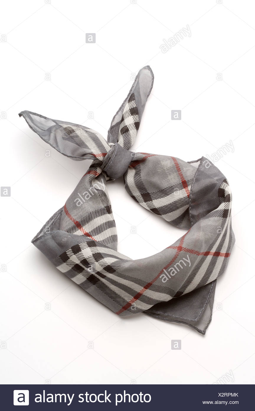 Tied Scarf - Stock Image