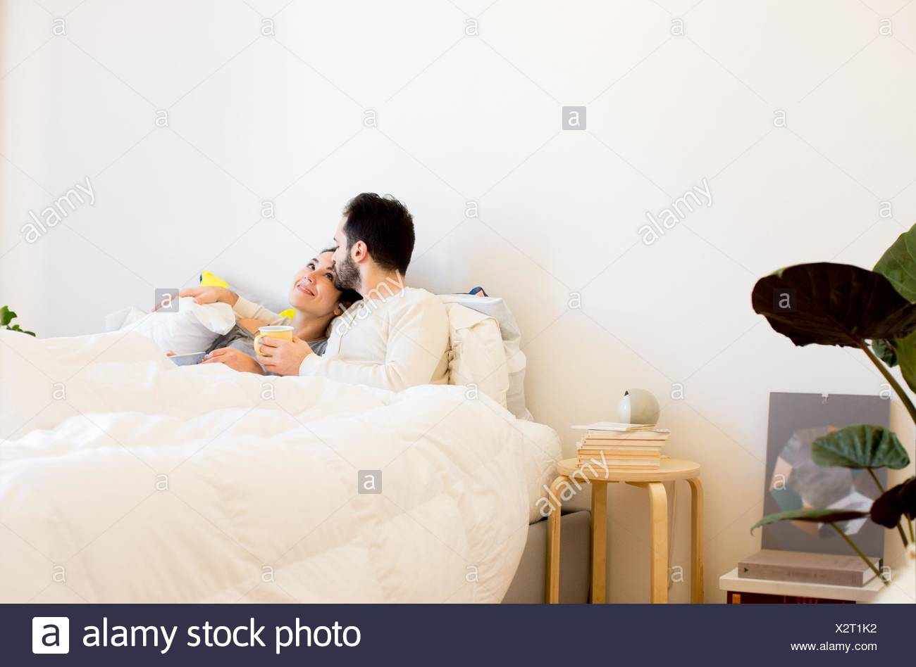kissing couples romantic in bed romantic couple kissing in bed stock photos romantic 8244