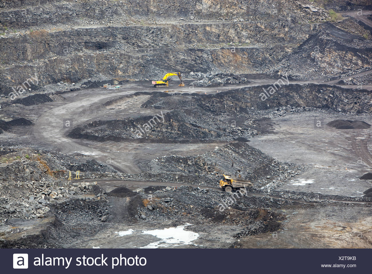 Limestone Quarry Lancashire Stock Photos & Limestone Quarry