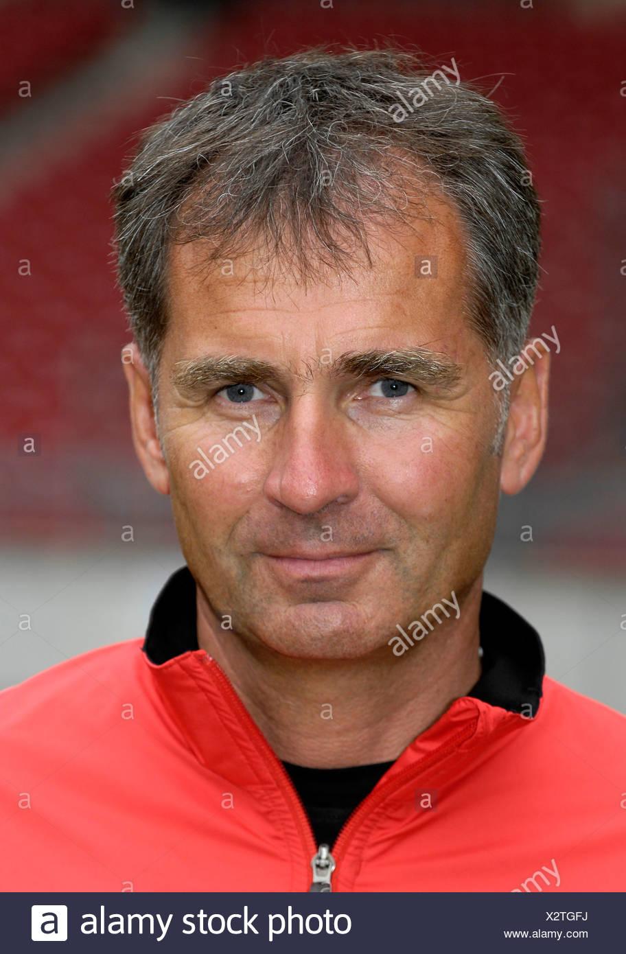 Speed coach Guenter KERN VfB Stuttgart - Stock Image