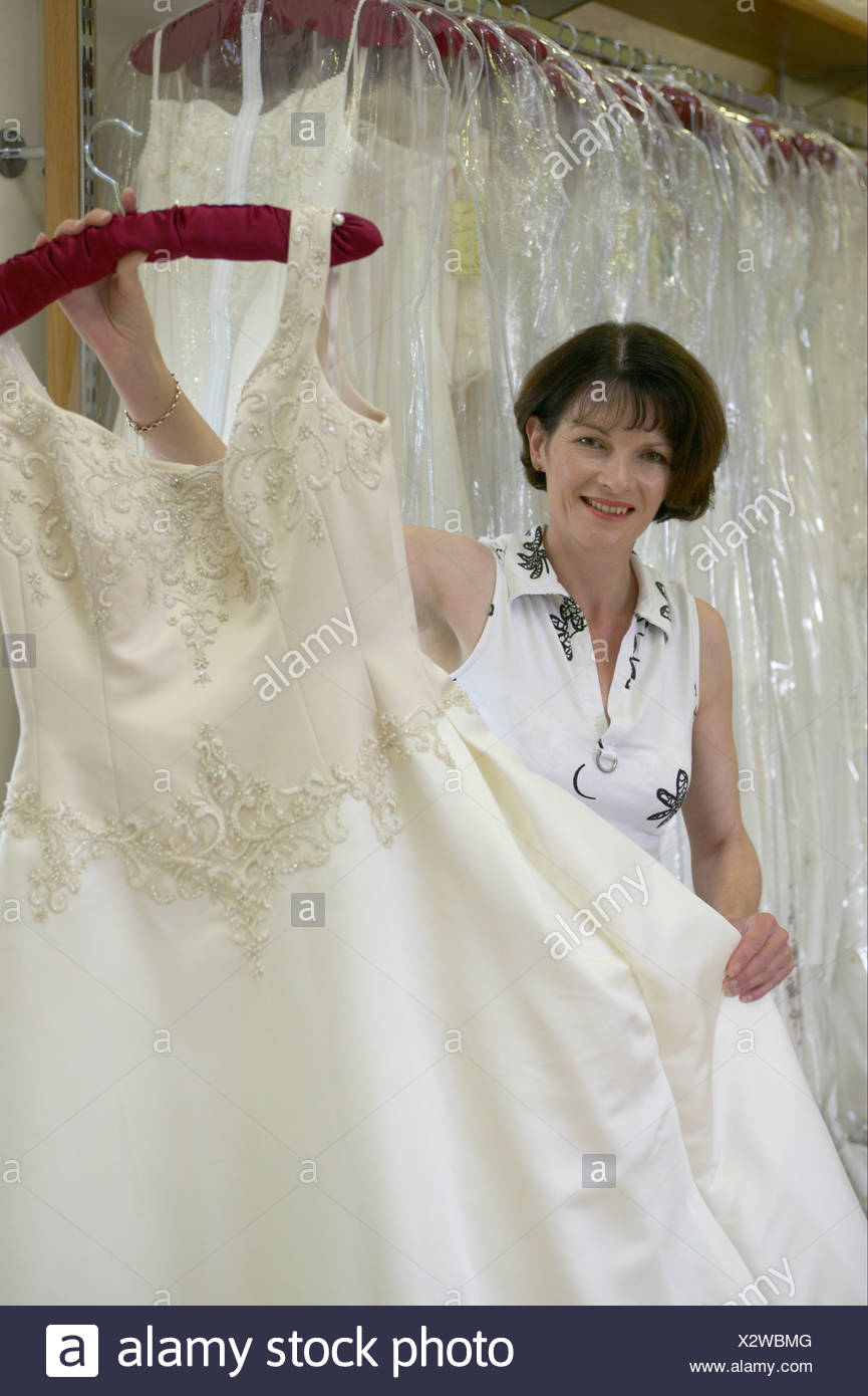 Wedding Dress retailer showing her goods at The Wedding Studio ...