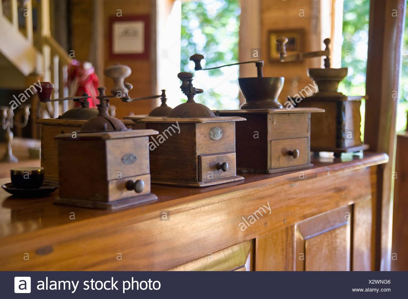 Coffee mills - Stock Image