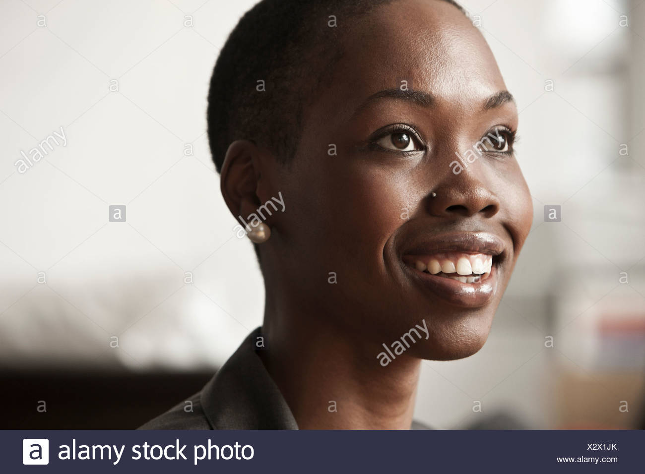 Young businesswoman, portrait Stock Photo