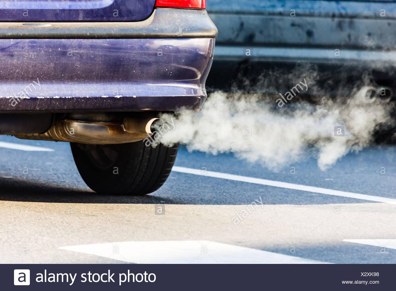 Diesel Car Exhaust Stock Photos Diesel Car Exhaust Stock Images