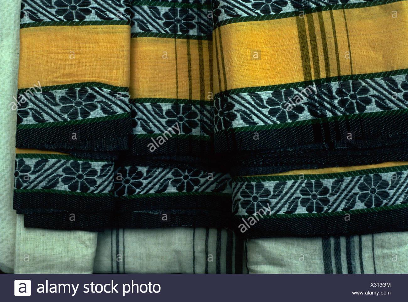 Tangail saree - Stock Image