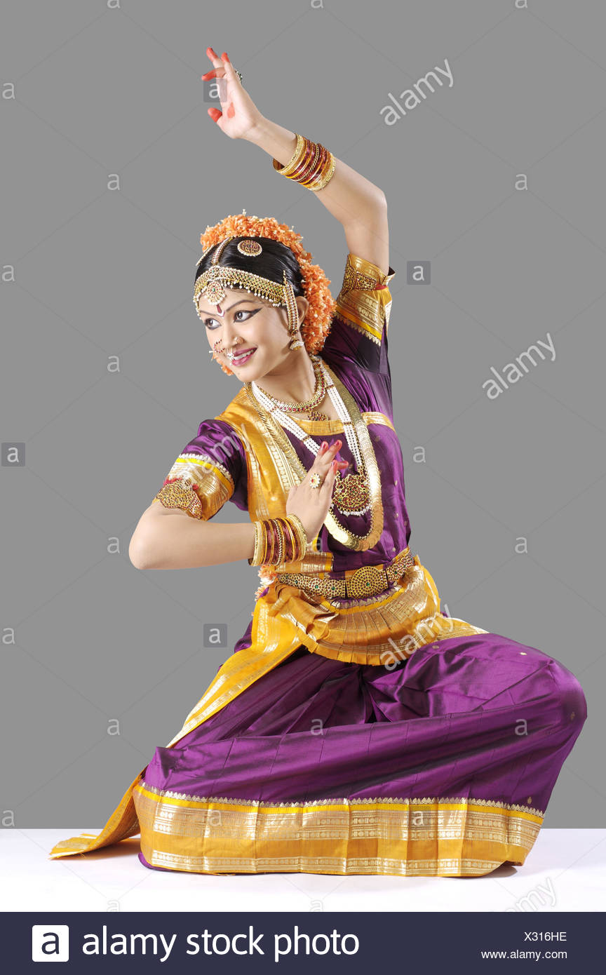 A Pose From Alaripu (a Dance In Bharat Natyam)   Stock Image