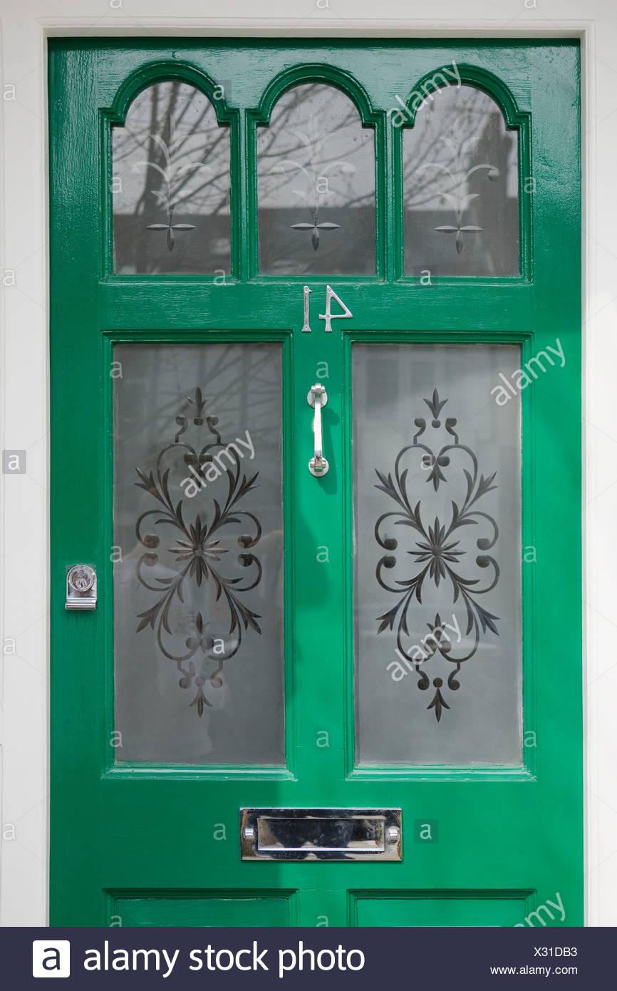 Front door - Stock Image